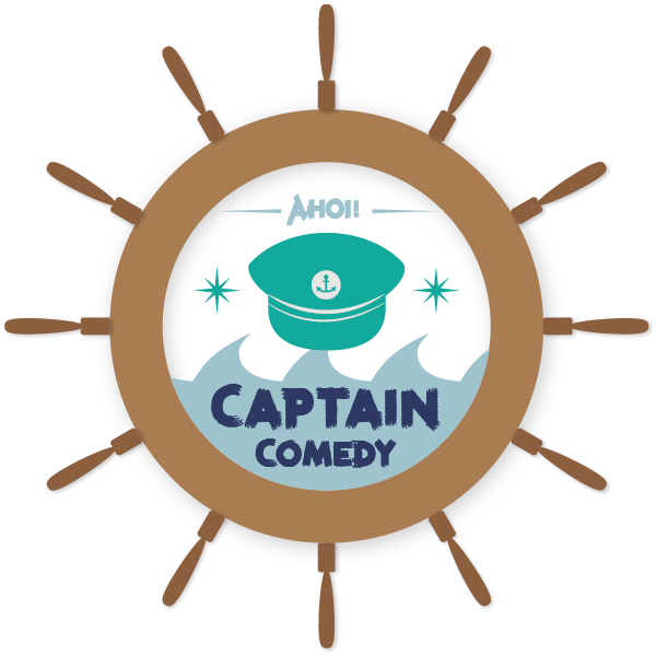 captain comedy logo scribble 01